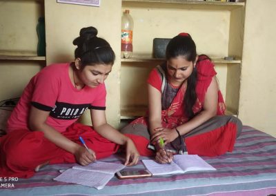 Online coaching classes for adolescent girls to prepare for job oriented competitive examinations.
